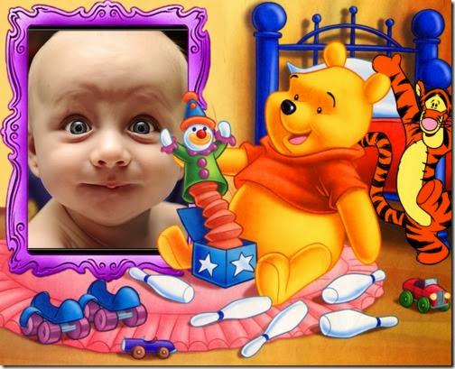 Crea un fotomontaje con Winnie the Pooh y tu foto
