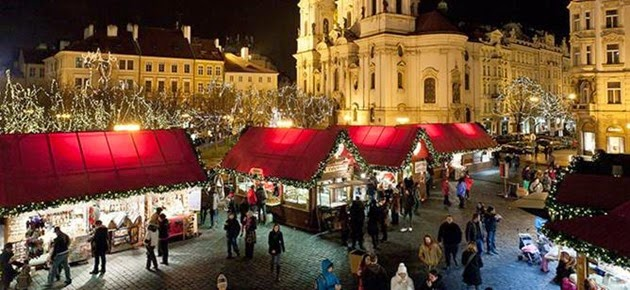 Christmas in Old Town of Prague
