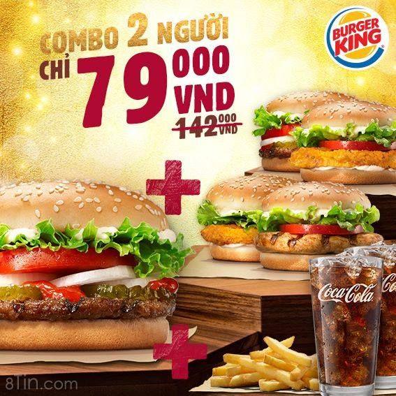 "[Combo 79 – Burger ""nung ninh""] Mai là thứ 6 rồi, các"
