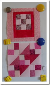 RSC Pink sampler blocks