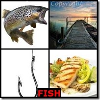 FISH- 4 Pics 1 Word Answers 3 Letters