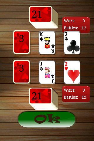 戰爭 - 撲克牌免費
