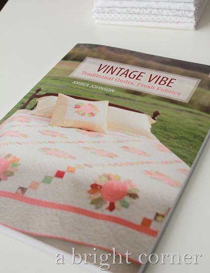 Vintage Vibe quilt book