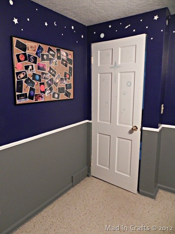 space geek bedroom door