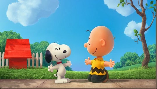 PEANUTS FIRST LOOK PHOTO