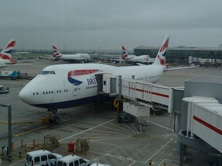 Aeroportul Londra Heathrow: Boeing 747 British Airways