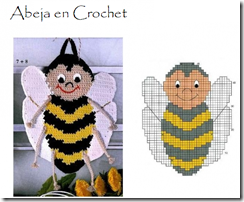 abeja en crochet tutorial paso a paso4