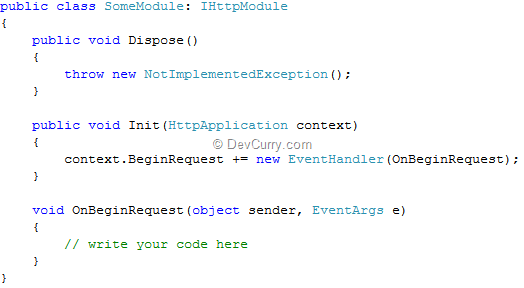 aspnet register module