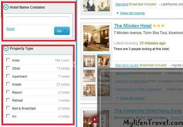 How to online booking hotel 14
