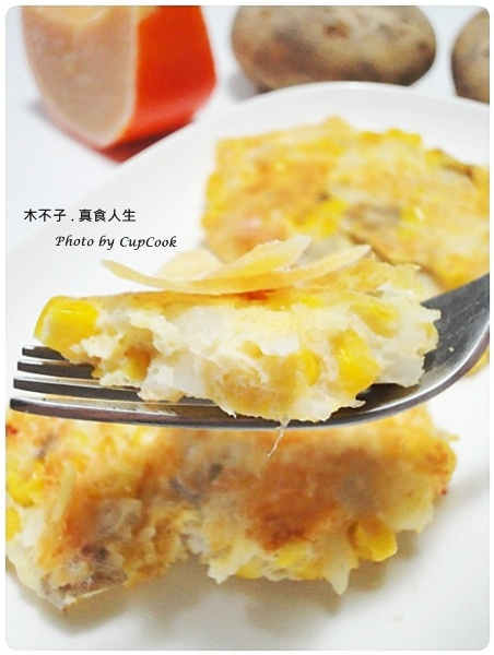 Sweet Corn Potato Pancake