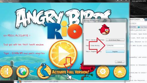 Angry Bird Rio Activation Key Generator // versigole cf