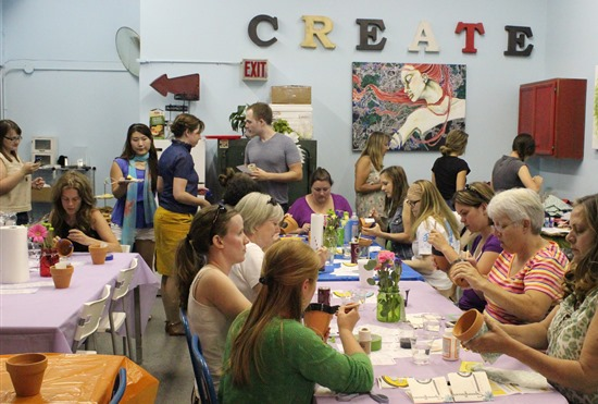 Louisville Etsy Craft Party #craftparty