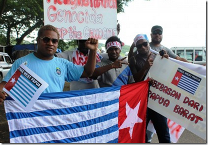 west papua solomon islands
