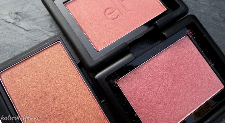 elf studio blush blushing rose comparison sleek sunrise elf berry merry