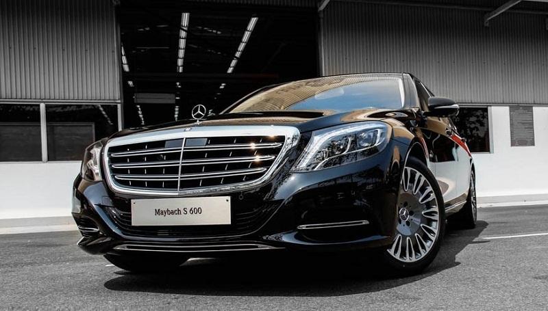 Xe Mercedes Benz S600 MAYBACH màu đen 06