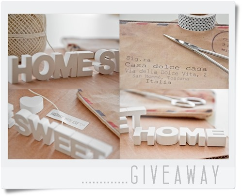 Lara Coccola, giveaway, etsy shop, home sweet home, Cata's blog
