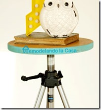diy-tripod table-