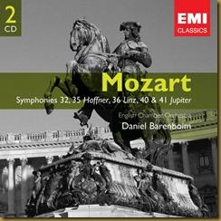 Mozart 40 Barenboim English Chamber EMI