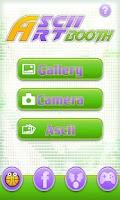Screenshot of AsciiArt Booth