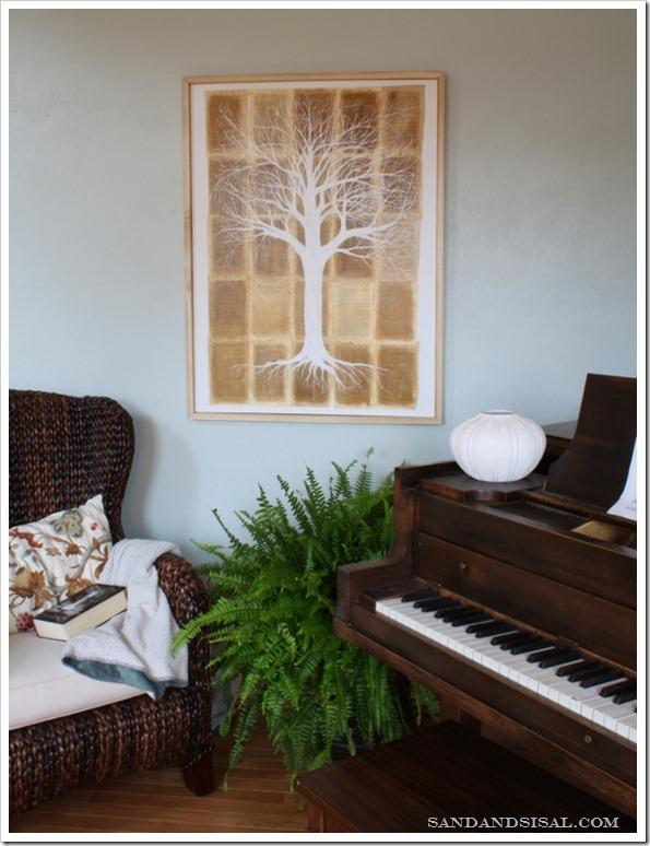 Twilight Art - Tree of Life by Sand & Sisal