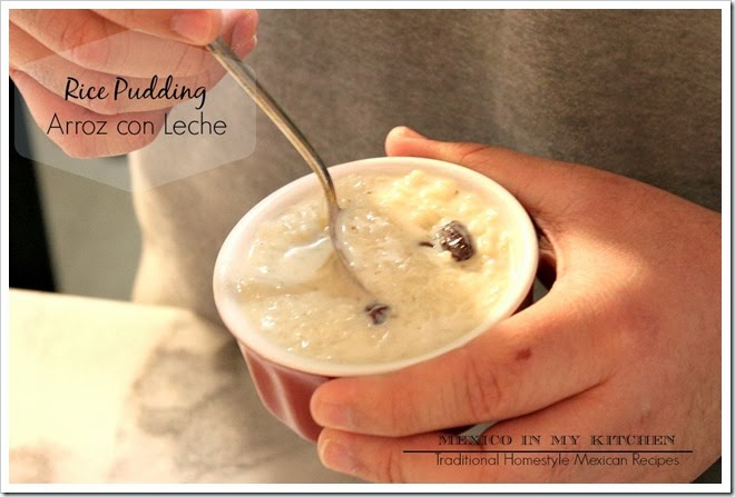 Mexican Rice Pudding | step by step instructions with photos of the process