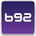 B92 English logo