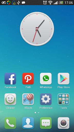 Qube Launcher-Free HD Theme