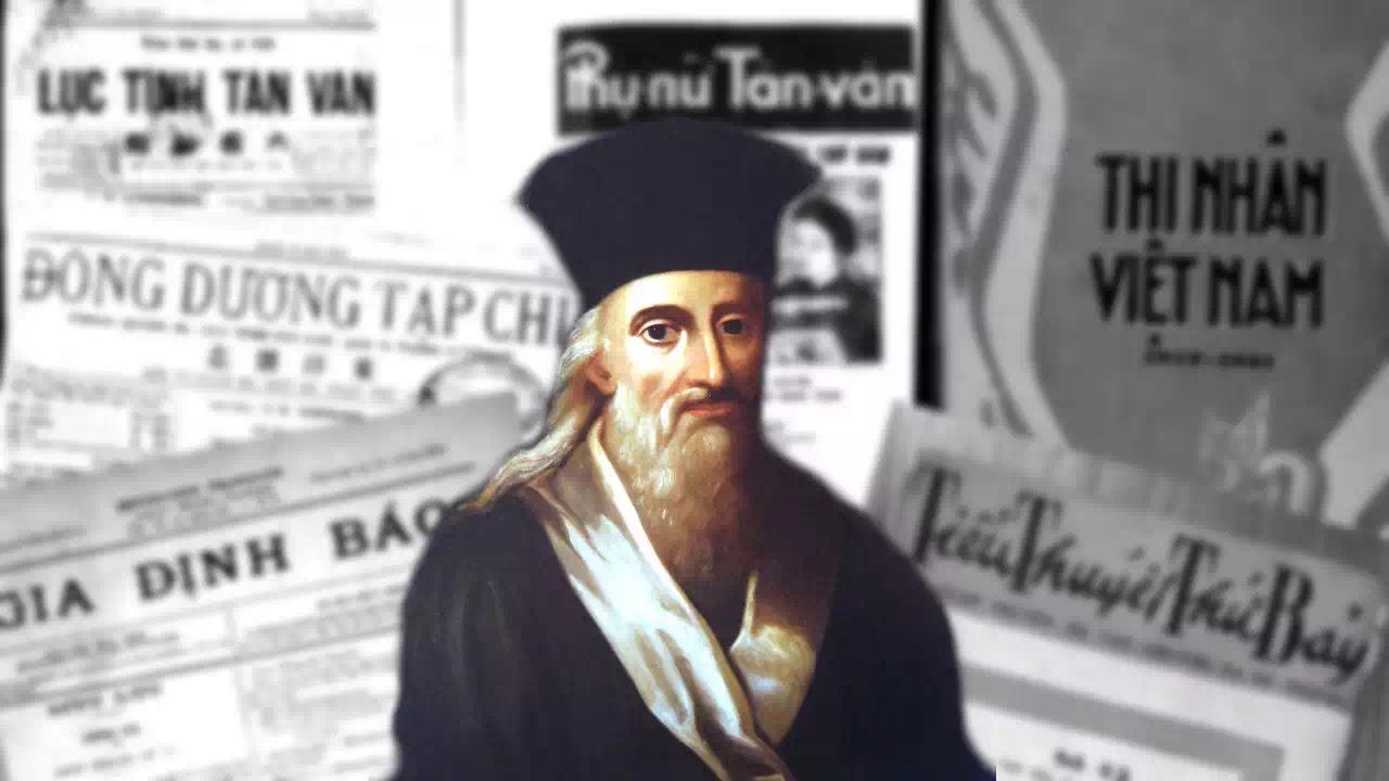Giáo sĩ Alexandre de Rhodes và các ấn phẩm chữ Quốc ngữ cuối thế kỷ 19, đầu thế kỷ 20.