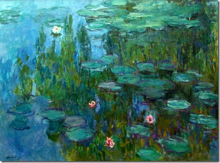 Claude Monet - nuferi