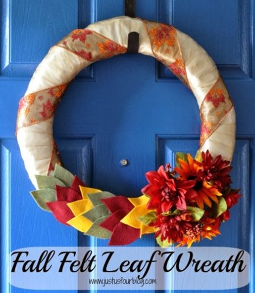 Fall-felt-leaf-wreath-with-label-420x480