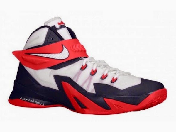 new product 33af8 910fd Upcoming Nike Zoom Soldier VIII USAB With Zip-up Strap ...