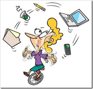 Cartoon_Business_Woman_Juggling_Many_Tasks_110404-176323-822042