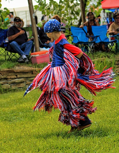 Lenape Powwow Fancy Dancer12