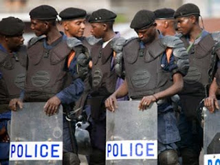Police congolaise.