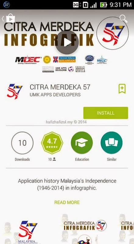 Download Applikasi Free Sempena Merdeka
