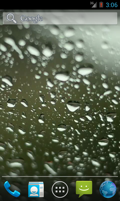 Rainy Day HD. Video Wallpaper. - screenshot