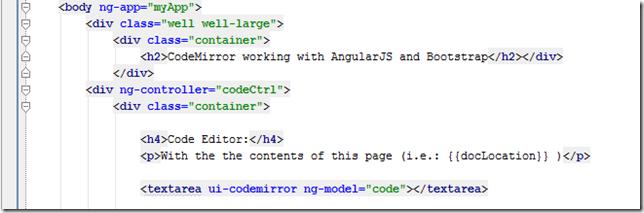Dinis Cruz Blog: AngularJS code editor using UI-Bootstrap
