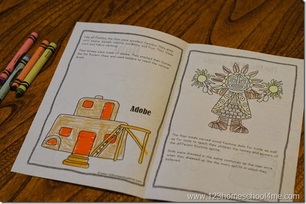 hopi and navajo indians for kids
