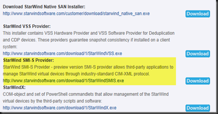 HYPER-V,SYSTEM CENTER AND AZURE: SMI-S Provider Available in