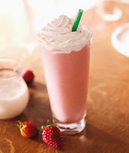 Starbucks Strawberries & Creme Frappucino