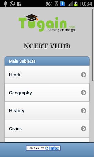 Tugain NCERT VIII