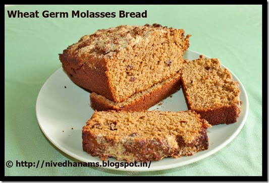 Wheat Germ and Molasses Bread - IMG_3485