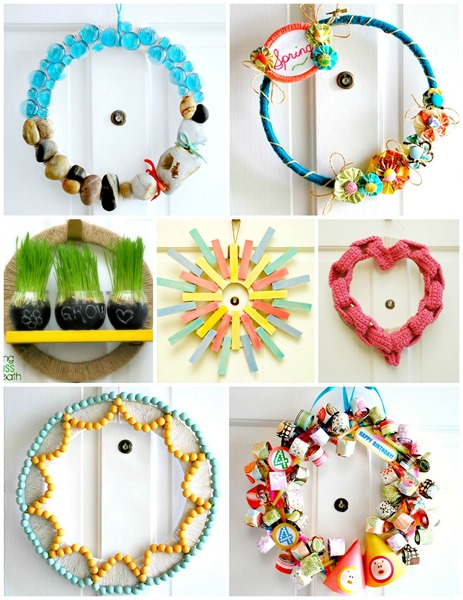 DIY Wreath Tutorials - The Silly Pearl