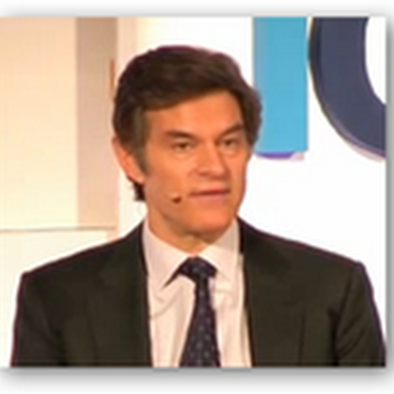 Dr. Oz on Technology and Doctors–It's Not About Medicine Depending Technology And Not Doctors But Rather About Developing an Awareness of Tools & Technology That Have Value And Are Available…