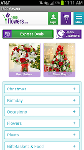 1-800-FLOWERS - Flowers, gifts- screenshot thumbnail