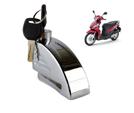 Khóa xe máy có còi báo động tại Hải Phòng