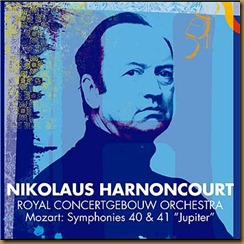 Mozart 40 Harnoncourt Concertgebouw