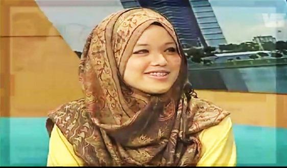 Fatin Liyana dalam Malaysia Hari Ini ( MHI ) dan Nasi Lemak Kopi O