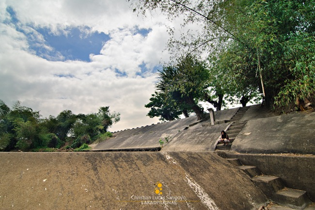 The Ramparts of Palanas Mini-Dam in Bulacan