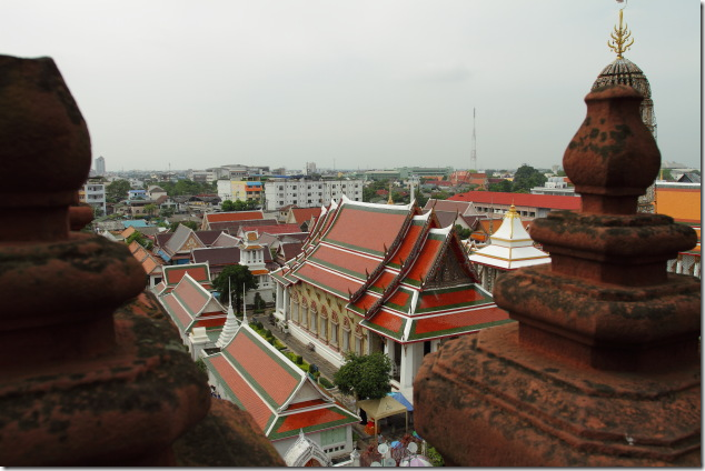 Traditional Architecture next to Wat Arun